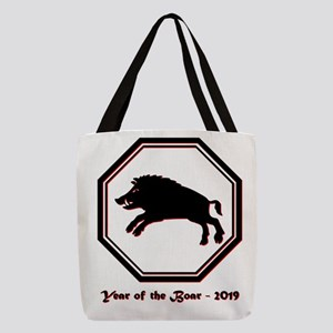 Year of the Boar - 2019 Polyester Tote Bag
