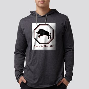 Year of the Boar - 2019 Mens Hooded Shirt