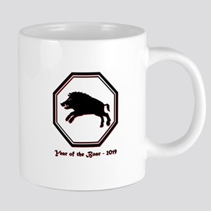 Year of the Boar - 2019 20 oz Ceramic Mega Mug