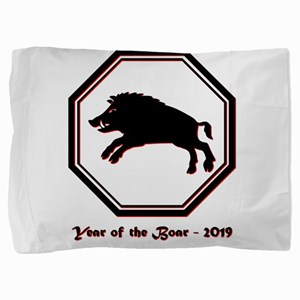 Year of the Boar - 2019 Pillow Sham