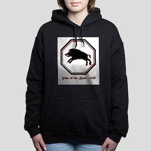 Year of the Boar - 2019 Women's Hooded Sweatshirt