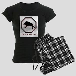 Year of the Boar - 2019 Women's Dark Pajamas