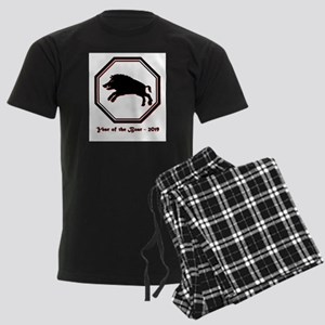 Year of the Boar - 2019 Men's Dark Pajamas