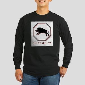 Year of the Boar - 2019 Long Sleeve Dark T-Shirt