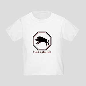 Year of the Boar - 2019 Toddler T-Shirt