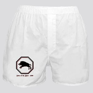 Year of the Boar - 2019 Boxer Shorts