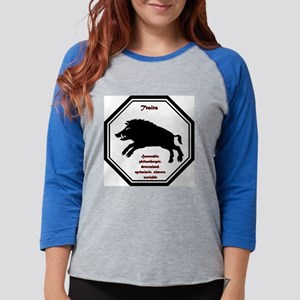 Year of the Boar - Traits Womens Baseball Tee