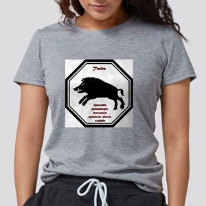 Year of the Boar - Traits Womens Tri-blend T-Shirt