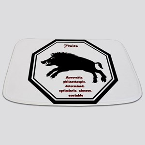 Year of the Boar - Traits Bathmat