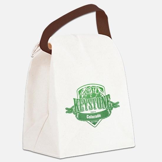 Keystone Colorado Ski Resort 3 Canvas Lunch Bag