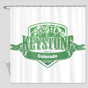 Keystone Colorado Ski Resort 3 Shower Curtain