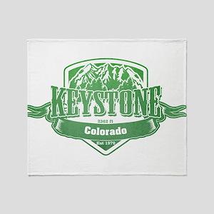 Keystone Colorado Ski Resort 3 Throw Blanket