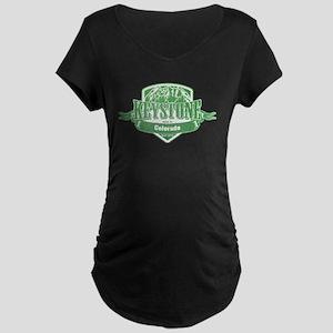 Keystone Colorado Ski Resort 3 Maternity T-Shirt