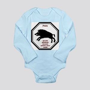 Year of the Boar - Traits Long Sleeve Infant Bodys
