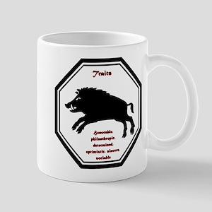 Year of the Boar - Traits 11 oz Ceramic Mug