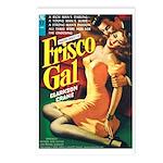 Postcards (pkg. 8) - 'Frisco Gal'
