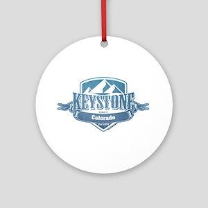 Keystone Colorado Ski Resort 1 Ornament (Round)