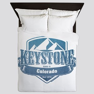 Keystone Colorado Ski Resort 1 Queen Duvet