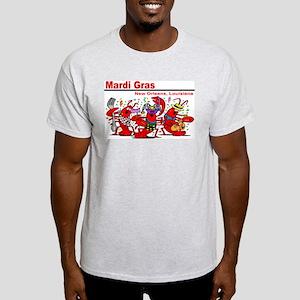 Dancing Lobsters Ash Grey T-Shirt