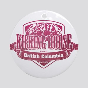 Kicking Horse British Columbia Ski Resort 3 Orname