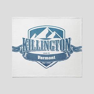 Killington Vermont Ski Resort 1 Throw Blanket
