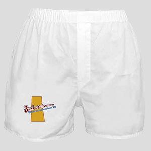 Saskatchewan! Boxer Shorts
