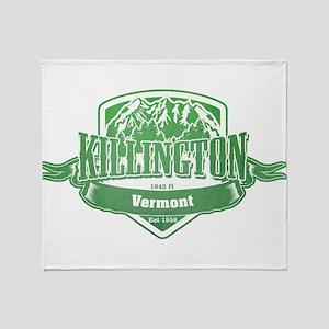 Killington Vermont Ski Resort 3 Throw Blanket