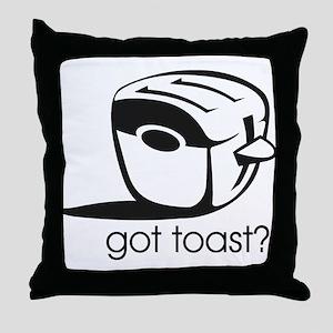 Got Toast ? Throw Pillow