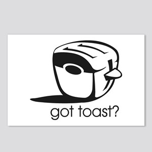 Got Toast ? Postcards (Package of 8)