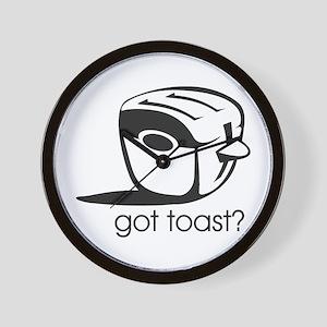 Got Toast ? Wall Clock