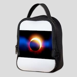 Solar Eclipse Neoprene Lunch Bag