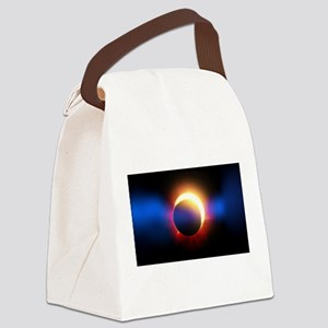 Solar Eclipse Canvas Lunch Bag