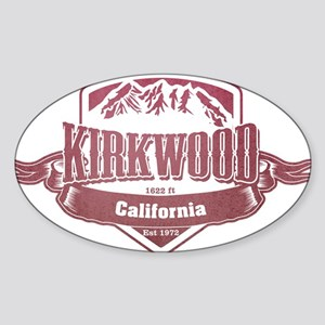 Kirkwood California Ski Resort Sticker