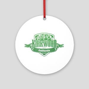 Kirkwood California Ski Resort 3 Ornament (Round)