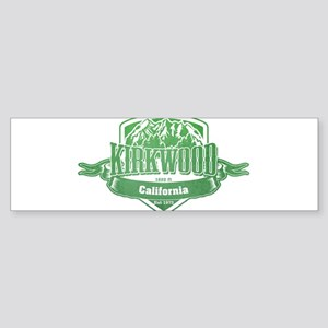 Kirkwood California Ski Resort 3 Bumper Sticker