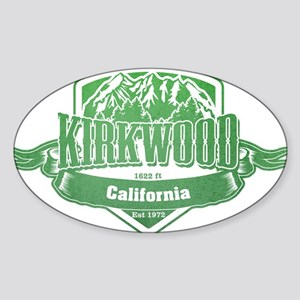 Kirkwood California Ski Resort 3 Sticker