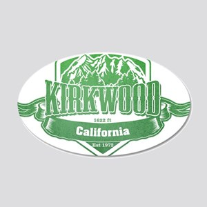 Kirkwood California Ski Resort 3 Wall Sticker
