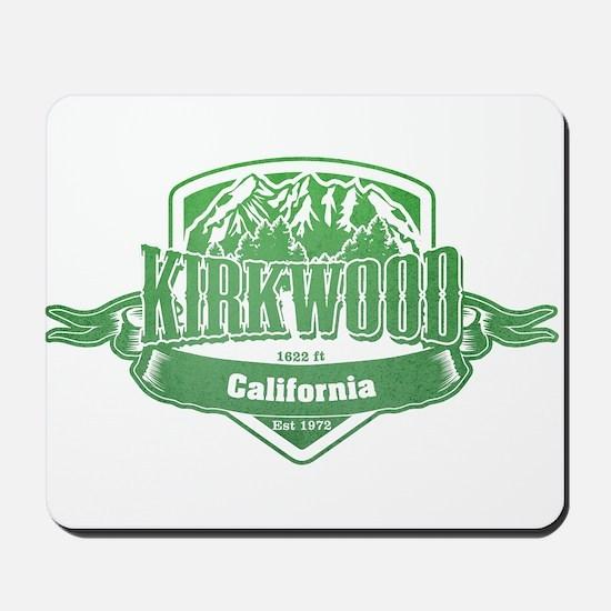 Kirkwood California Ski Resort 3 Mousepad