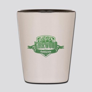 Kirkwood California Ski Resort 3 Shot Glass