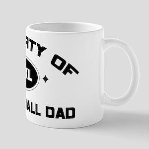 Property of Basketball Dad Mug