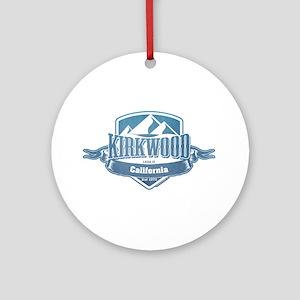 Kirkwood California Ski Resort 1 Ornament (Round)
