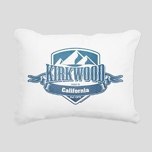 Kirkwood California Ski Resort 1 Rectangular Canva