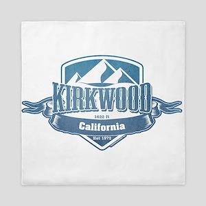 Kirkwood California Ski Resort 1 Queen Duvet