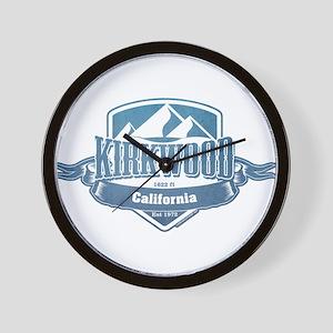 Kirkwood California Ski Resort 1 Wall Clock