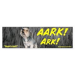 Noah's Ark Bumper Bumper Sticker