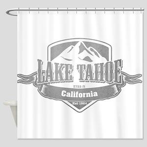 Lake Tahoe California Ski Resort 5 Shower Curtain