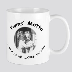 Twins' Motto Apparel Mug
