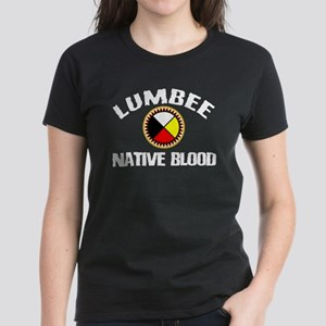 Lumbee Native Blood Women's Dark T-Shirt