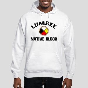 Lumbee Native Blood Hooded Sweatshirt