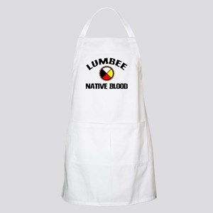 Lumbee Native Blood BBQ Apron